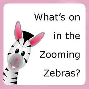 What's on in the Zooming Zebras